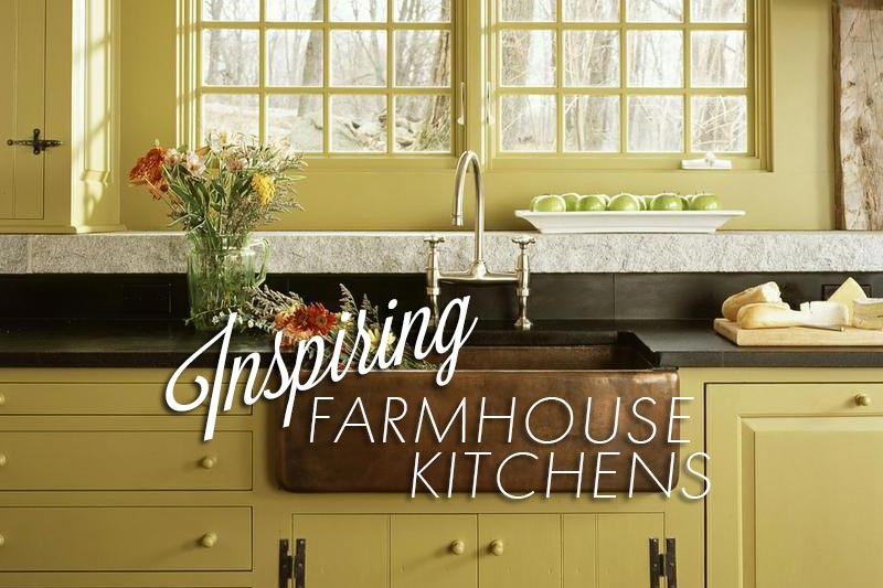 5 Inspiring Farmhouse Kitchens