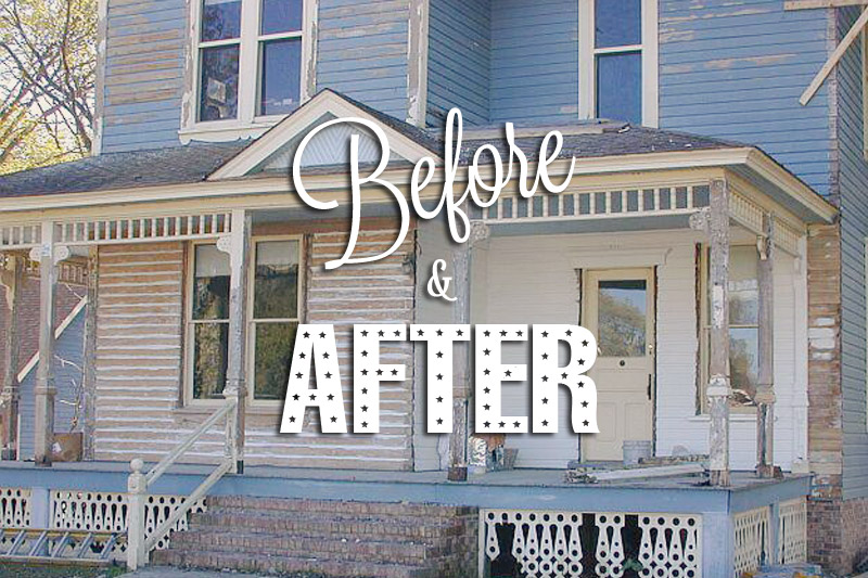 Before & After: Queen Anne Home Gets a Facelift!