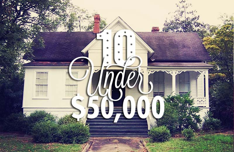 10 Houses Under $50,000: Cottages! Cabins! Woodwork, Woodwork, Woodwork!