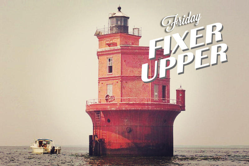 A Fixer-Upper for the Lighthouse Lover in Your Life