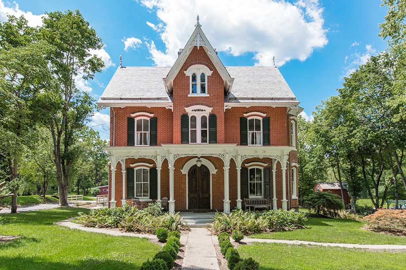 High-Style Gothic Victorian