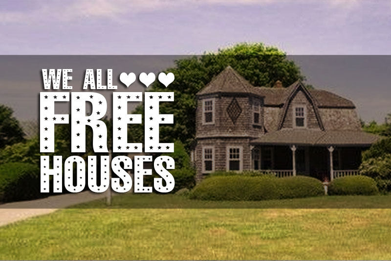 Free Houses! These 6 Gorgeous Old Houses Are Free For The Taking — Provided You Can Move Them