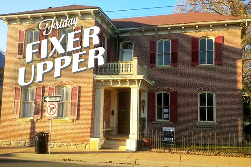 Friday Fixer-Upper: Jesse B. Robbin's House in Missouri!