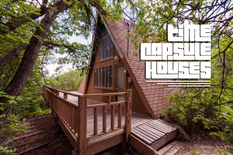 This Groovy 1972 A-Frame is a Perfect Time Capsule