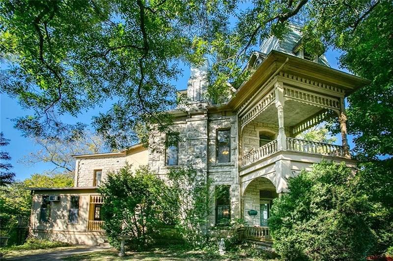 1888 The Penn Castle In Eureka Springs Arkansas