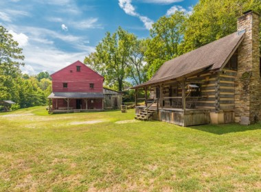Auction 1800s Log Cabin And Mill On Over 3 Acres Circa